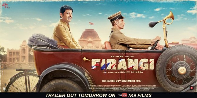 Kapil Sharma Firangi Movie Poster First Look