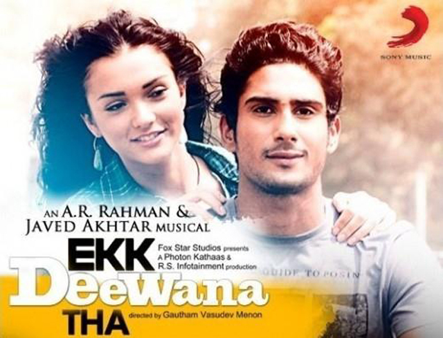Prateik Babbar and Amy Jackson Ek Deewana Tha Movie Poster