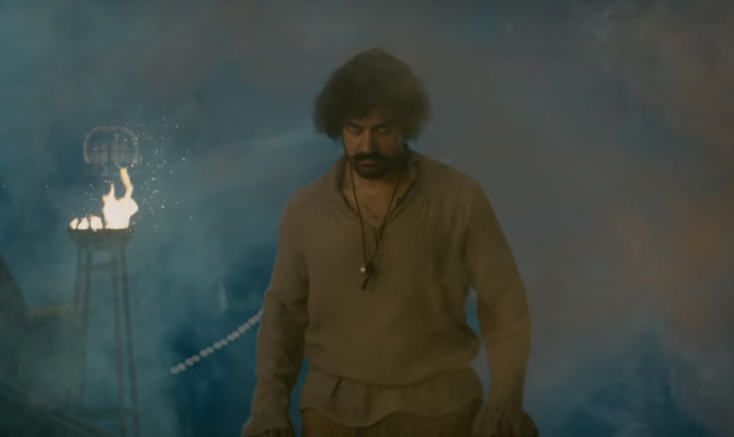 Aamir Khan starrer Thugs Of Hindostan Movie Stills  13