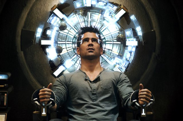 Colin Farrell in Total Recall Photo