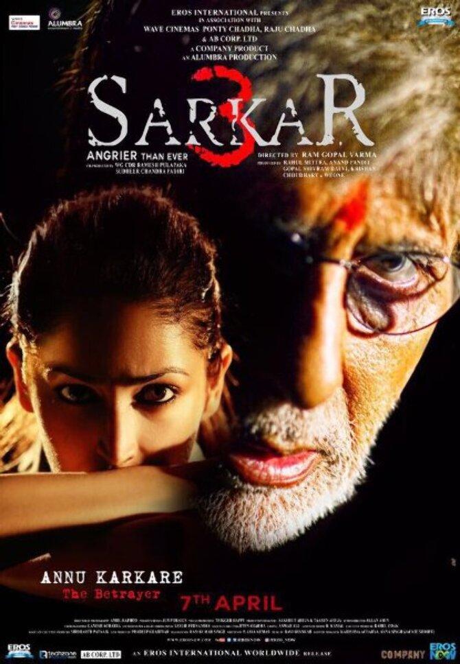 Yami Gautam Sarkar 3 Movie Psoter
