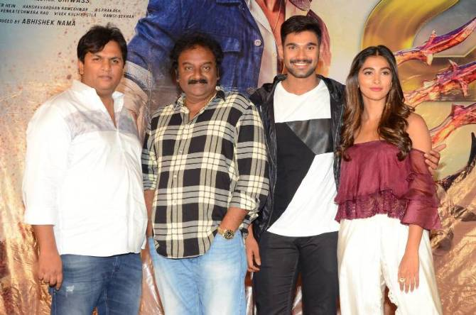 Saakshyam Telugu Movie Press Meet  4