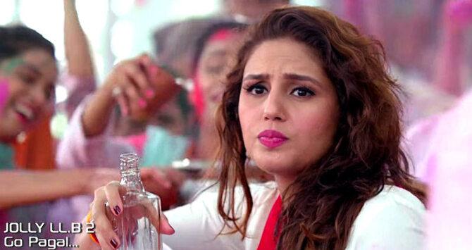 Huma Qureshi  Akshay Kumar Jolly LLB 2 Go Pagal Song Stills  1
