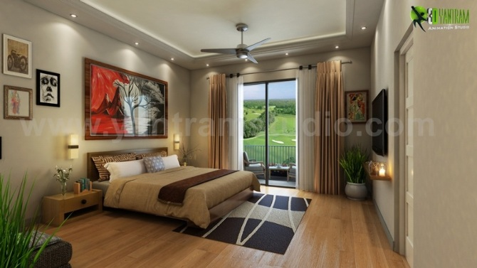 Bedroom View Architectural and Design Services