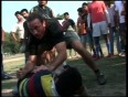 US coach teaches rugby in Kashmir